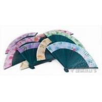 Sheer Cloth Hand Fan Manufactures