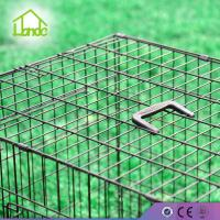 flodable pet cage floding two door pet cage for dog