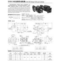 Gear_pump C101/C102 Manufactures