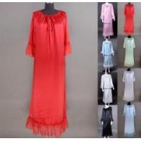 Women's 19MM 100% Pure Silk Gowns Robes Bathrobes Nightgown Sleepwear Manufactures