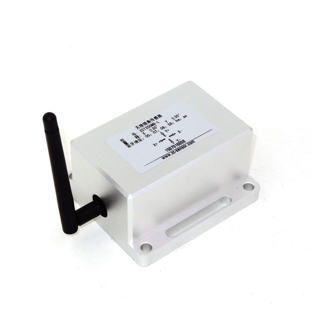 Wireless Inclinometer Dual Axis Wireless Tiltmeter ZCT200MB Manufactures