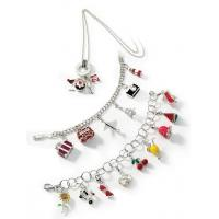 14k Gold and Silver Charms Amore La Vita Charms and Bracelets Manufactures