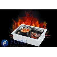 Buy cheap Electric bbq grill with hot pot from wholesalers