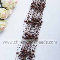 3*8MM beaded garland wire pearl beaded spray with--YZB002- 19 Manufactures