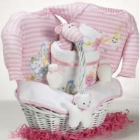 Baby Gift Baskets Catch-A-Star Girl Baby Gift Basket Manufactures