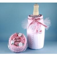 China Unique Baby Gifts Milk & Cake Baby Girl Gift on sale