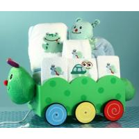 Personalized Baby Gifts Unique Baby Boy Gift-Caterpillar Wagon Gift Set