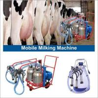 China Mobile Milking Machines on sale