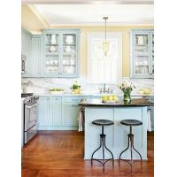 Blue And Yellow Kitchens