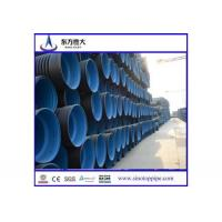 Rainwater drainage HDPE Double-wall Corrugated Pipe Manufactures