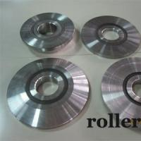 Pneumatic equipment components rollers