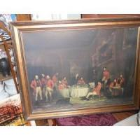 Early 1900 or late 1800 Litho Print Vintage Manufactures