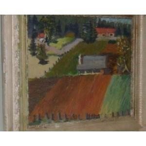 Quality Old Painting Unknown Artist Impressionist style for sale