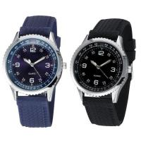 China Tyre Silicone Strap Trendy Male Custom Branded Wrist Watches for Man on sale