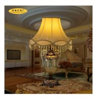Cheap Rose Lampshade Golden Cup Lampholder Italy or America or Europe Traditional Lamps for sale