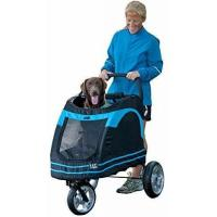 China Pet Gear Roadster Pet Stroller for Cats and Dogs, Black/Blue on sale