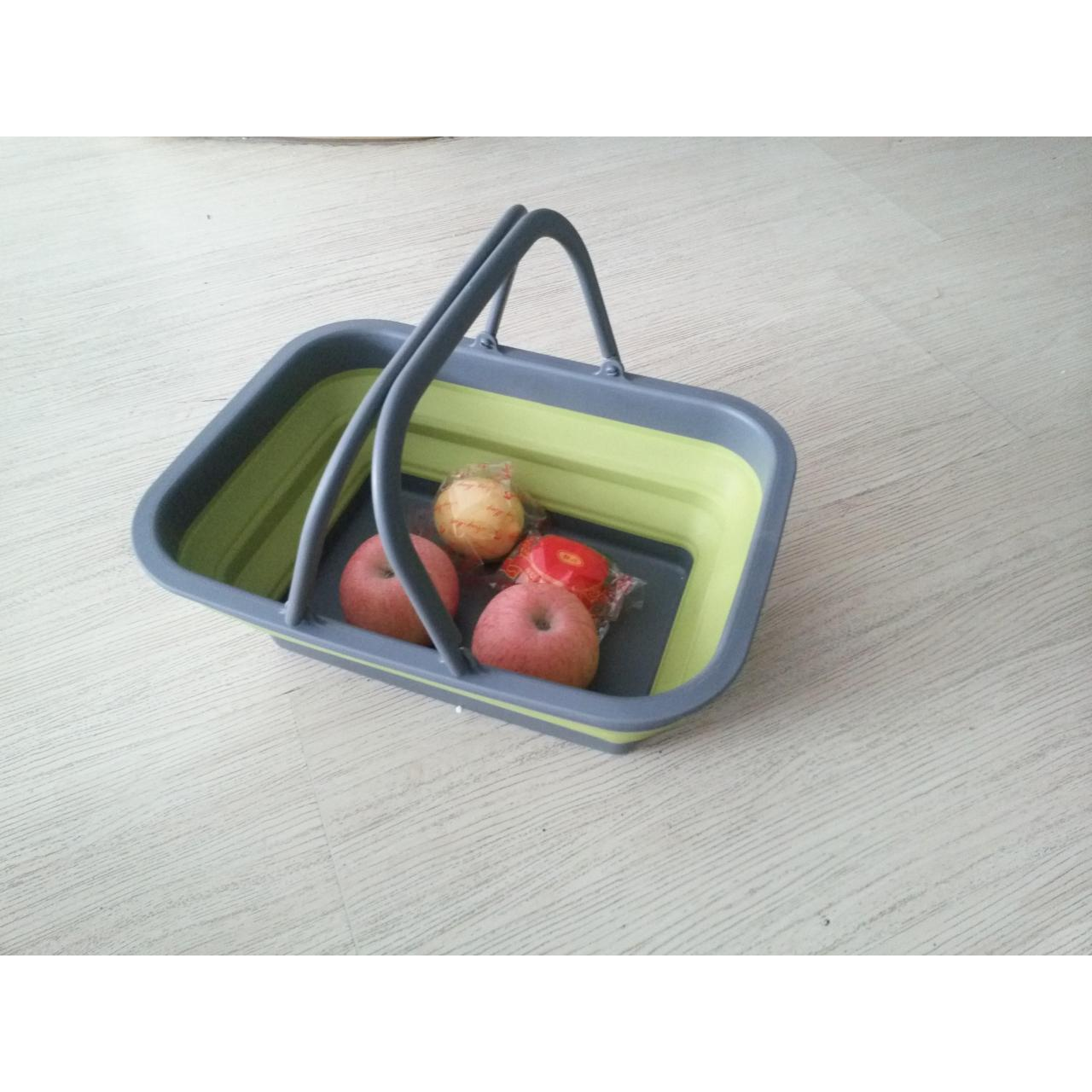 Colorful plastic collapsible fruit basket Manufactures