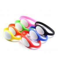 NFC smart wristband rfid silicone bracelet Manufactures