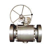 Ball valve Flange connection fixed ball valve Manufactures