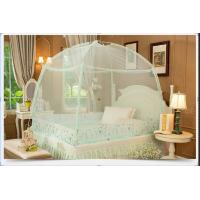 Portable folding double bed mosquito nets for girls bed with lace