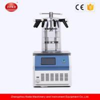 Cheap Small Laboratory Benchtop Vacuum Freeze Dryer for sale