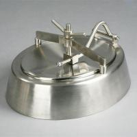 Sanitary Stainless Steel Oval Manwaydoor Inwards Opening for Beer Conical Fermenter