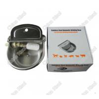 Stainless steel drinking bowl cattle