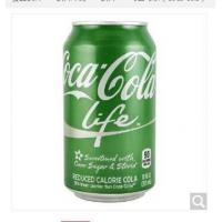 Coca-cola life carbonated drink soft drink 355ml