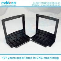 China CNC Machined The Aluminum Alloy Black L-FORM Parts of 3D Printing Machine on sale