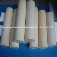 Guangzhou customized plastic material rods tough hard pvc round plastic bar Manufactures