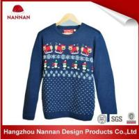 China Knitted Mens Ugly Christmas Sweater on sale