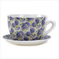 Lavender Teacup Planter Manufactures