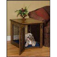 Pinnacle Woodcraft Chew Proof Cherry Wood Dog Crate End Table Manufactures