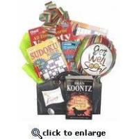 Boredom Buster Get Well Gift With Books No Food Version | Get well gift with reading material. Manufactures