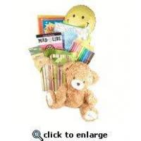 Get Well Gift For Kids |Get Well Giftbasket Chidren | Get well gift with reading material teddy bear Manufactures