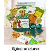 Get Well Gift Basket Hang In There Manufactures