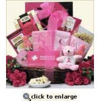Breast Cancer Awareness Gift Basket For The Cure Manufactures
