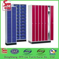 Buy cheap Locker Two compartment steel locker office furniture metal cabinet from wholesalers