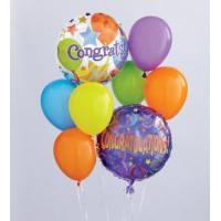 Sympathy Flowers Congratulations Balloon Bouquet
