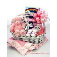 Baby Gift Baskets Welcome New Baby Girl Gift Basket Manufactures