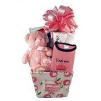 Baby Gift Baskets Personalized Baby Girl Gift Canvas Basket Manufactures