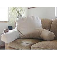 China Beds and Bedding Organic Cotton Back Support Reading Pillow on sale