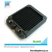 High performance copper projector/machine liquid cooling radiator