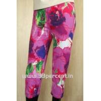 180 GRAM ELASTON SOFT,REACTIVE PRINTED 3/4 PANT WITH BODY FIT. Manufactures