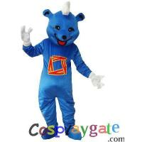 Blue Bear Plush Adult Mascot Costume Manufactures