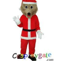 Christmas Bear Plush Adult Mascot Costume Manufactures