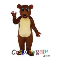 Gray Bear Plush Adult Mascot Costume Manufactures