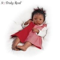 China Waltraud Hanl Jasmine's World of Wonder So Truly Real Lifelike Baby Doll CollectionModel # CT43813 on sale
