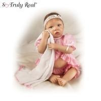China Reluctant Little Sleepyheads So Truly Real Lifelike Baby Doll CollectionModel # CT913067 on sale