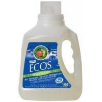 Earth Friendly Products Ecos 2x Liquid Laundry Detergent, Lemongrass, 100-Ounce Bottle (Pack of 4) Manufactures